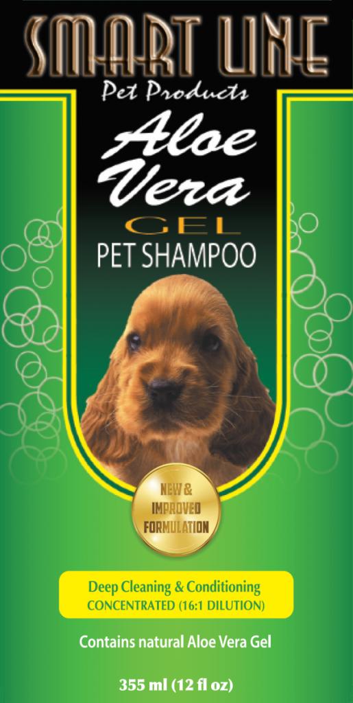 Aloe Vera Gel Dog Shampoo – Smart Line Pet Products