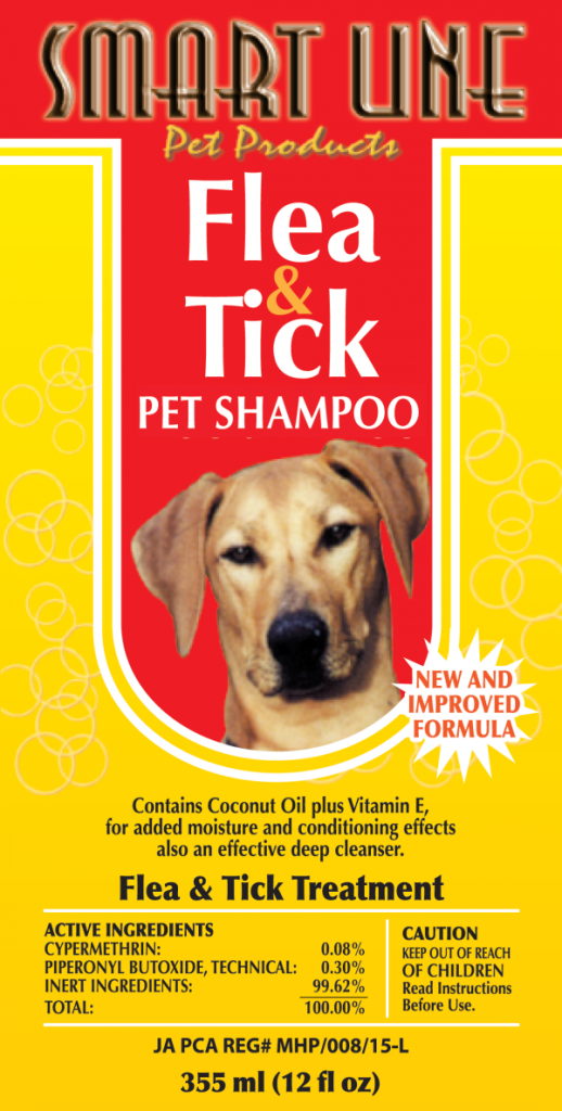 Flea And Tick Dog Shampoo Smart Line Pet Products
